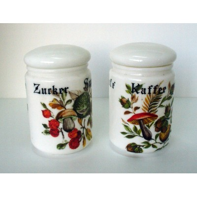 Sugar & Coffee containers