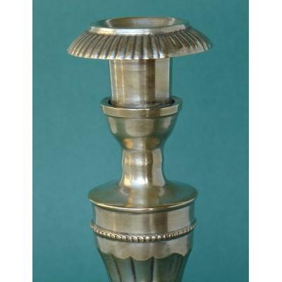 Bronze candlestick
