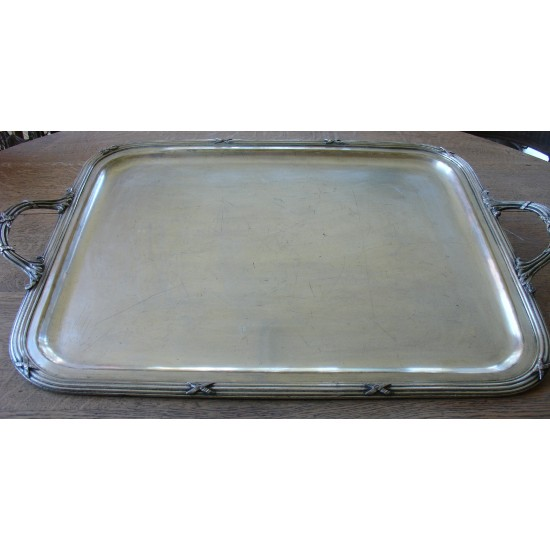 Silver Plated Tray Phenix