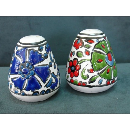 Salt and Pepper hand painted