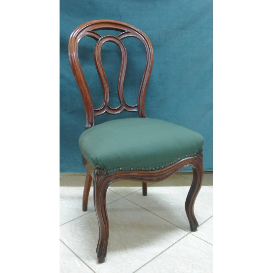 Mahogany French Chair