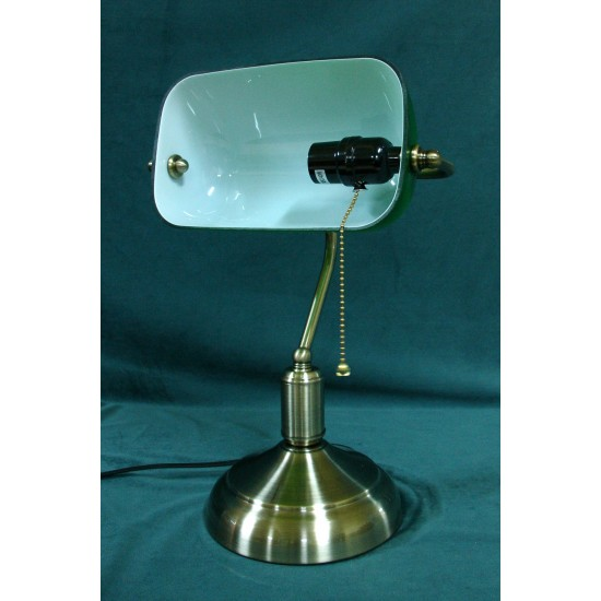 Desk Lamp Bankers Green